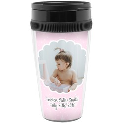 Baby Girl Photo Travel Mug (Personalized)