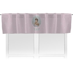 Baby Girl Photo Valance (Personalized)