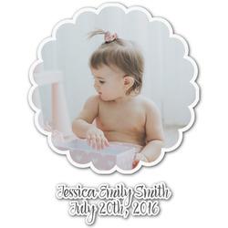 Baby Girl Photo Graphic Decal - Custom Sizes