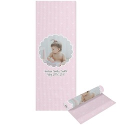 Baby Girl Photo Yoga Mat - Printable Front and Back (Personalized)