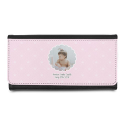 Baby Girl Photo Leatherette Ladies Wallet (Personalized)