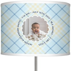 """Baby Boy Photo 13"""" Drum Lamp Shade Polyester (Personalized)"""