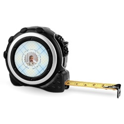 Baby Boy Photo Tape Measure - 16 Ft (Personalized)