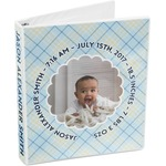 Baby Boy Photo 3-Ring Binder (Personalized)