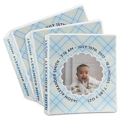 Baby Boy Photo 3-Ring Binder (Personalized)