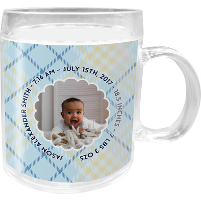 Baby Boy Photo Acrylic Kids Mug (Personalized)