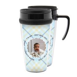 Baby Boy Photo Acrylic Travel Mugs (Personalized)