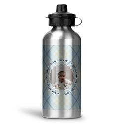 Baby Boy Photo Water Bottle - Aluminum - 20 oz (Personalized)
