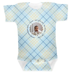 Baby Boy Photo Baby Bodysuit (Personalized)