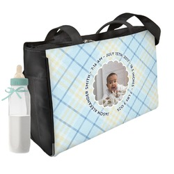 Baby Boy Photo Diaper Bag (Personalized)