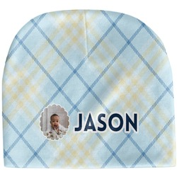 Baby Boy Photo Baby Hat (Beanie) (Personalized)