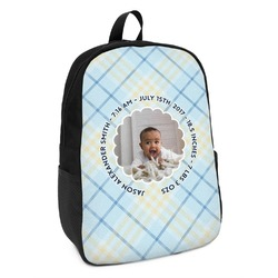 Baby Boy Photo Kids Backpack (Personalized)