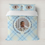 Baby Boy Photo Duvet Covers (Personalized)