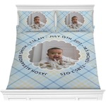 Baby Boy Photo Comforters (Personalized)