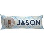 Baby Boy Photo Body Pillow Case (Personalized)