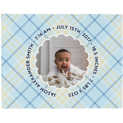 Baby Boy Photo Placemat (Fabric) (Personalized)