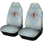 Baby Boy Photo Car Seat Covers (Set of Two) (Personalized)