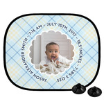 Baby Boy Photo Car Side Window Sun Shade (Personalized)