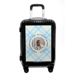 Baby Boy Photo Carry On Hard Shell Suitcase (Personalized)