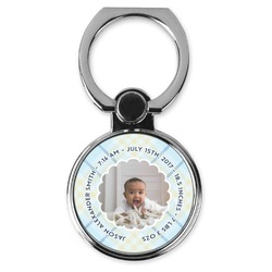 Baby Boy Photo Cell Phone Ring Stand & Holder (Personalized)