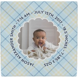 Baby Boy Photo Ceramic Tile Hot Pad (Personalized)