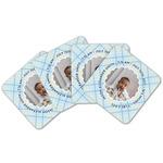 Baby Boy Photo Cork Coaster - Set of 4