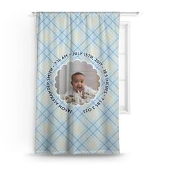 Baby Boy Photo Curtain (Personalized)