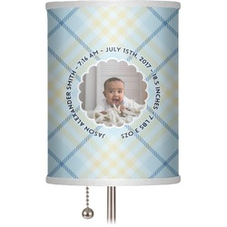 "Baby Boy Photo 7"" Drum Lamp Shade (Personalized)"