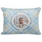 "Baby Boy Photo Decorative Baby Pillowcase - 16""x12"" (Personalized)"
