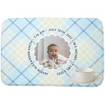 Baby Boy Photo Dish Drying Mat (Personalized)