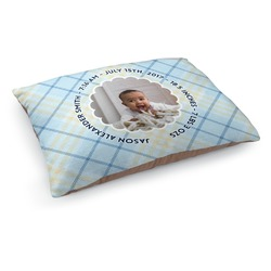Baby Boy Photo Dog Bed (Personalized)