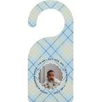 Baby Boy Photo Door Hanger (Personalized)