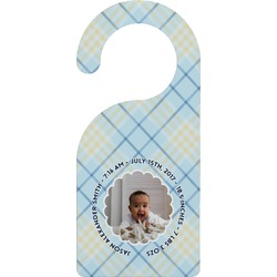 Baby Boy Photo Door Hanger (Personalized)