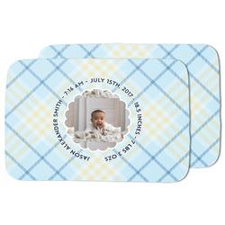 Baby Boy Photo Dish Drying Mat (Personalized)