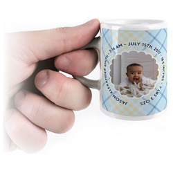 Baby Boy Photo Espresso Mug - 3 oz (Personalized)