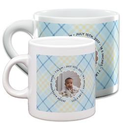 Baby Boy Photo Espresso Cups (Personalized)
