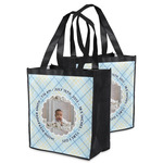 Baby Boy Photo Grocery Bag (Personalized)