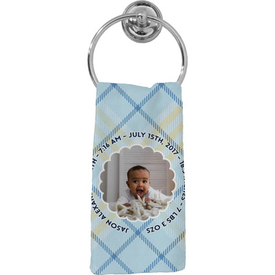 Baby Boy Photo Hand Towel - Full Print (Personalized)