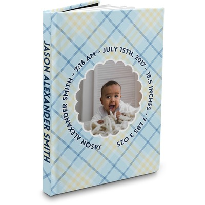 Baby Boy Photo Hardbound Journal (Personalized)