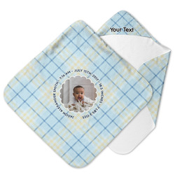 Baby Boy Photo Hooded Baby Towel