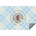 Baby Boy Photo Indoor / Outdoor Rug (Personalized)