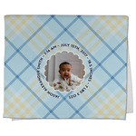 Baby Boy Photo Kitchen Towel - Full Print (Personalized)