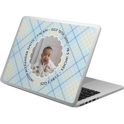 Baby Boy Photo Laptop Skin - Custom Sized (Personalized)