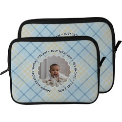 Baby Boy Photo Laptop Sleeve / Case (Personalized)