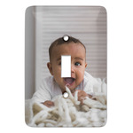 Baby Boy Photo Light Switch Covers (Personalized)