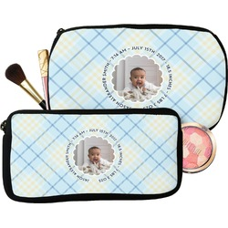 Baby Boy Photo Makeup / Cosmetic Bag (Personalized)
