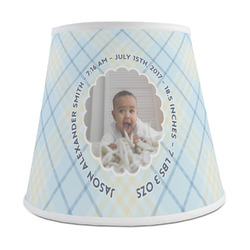 Baby Boy Photo Empire Lamp Shade (Personalized)