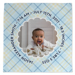 Baby Boy Photo Large Microfiber Dish Rag