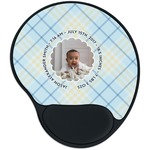Baby Boy Photo Mouse Pad with Wrist Support