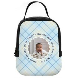 Baby Boy Photo Neoprene Lunch Tote (Personalized)